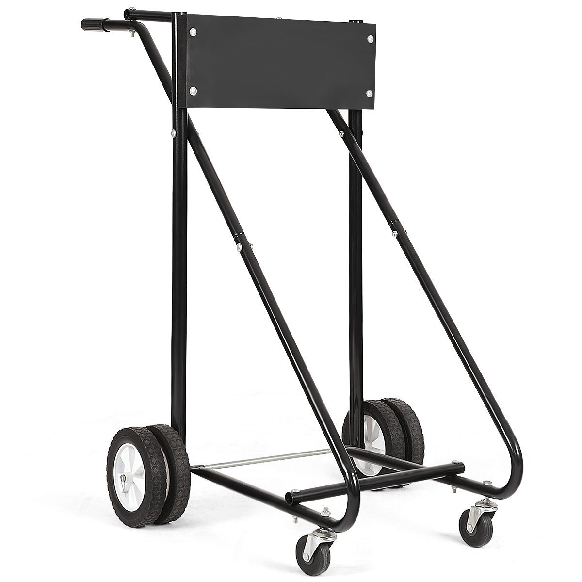 GOPLUS 310 LBS Outboard Boat Motor Stand Carrier Cart Dolly Storage Pro Heavy Duty by Goplus