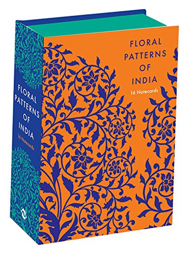 Floral Patterns of India: 16 Notecards (English Floral Patterns)