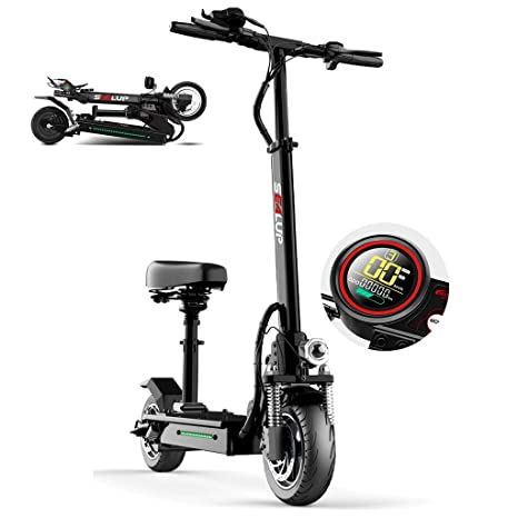 AMINSHAP Mini Scooter Eléctrico Q5, Batería De Iones De ...