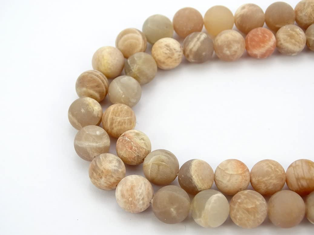 Agate 10mm polychrome frosted  matte frosted  matte round natural polychrome beads 37 beads by strand