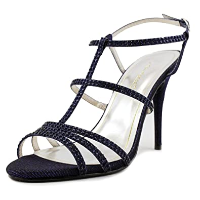 Caparros Groovy Women Open Toe Synthetic Blue Sandals Navy