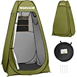 SGODDE Pop Up Privacy Shower Tent,Instant Portable Outdoor Shower Tent Camp Toilet, Changing Room, Rain Shelter with Carry Ba