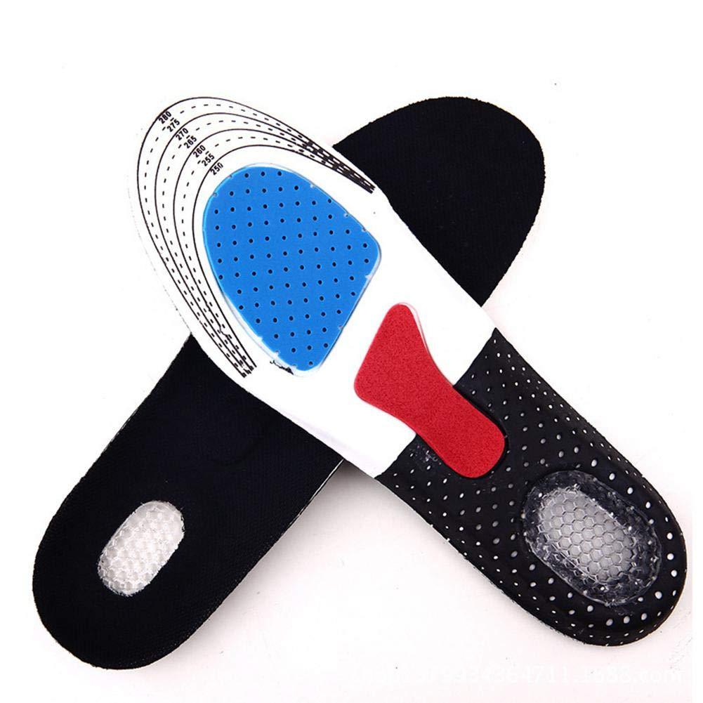 Plantilla para zapatos deportivos,EVA transpirable absorción de golpes, longitud completa, almohadilla para pies ortopédicos ajustable para fascitis plantar,correr, espolones de tal&oacu