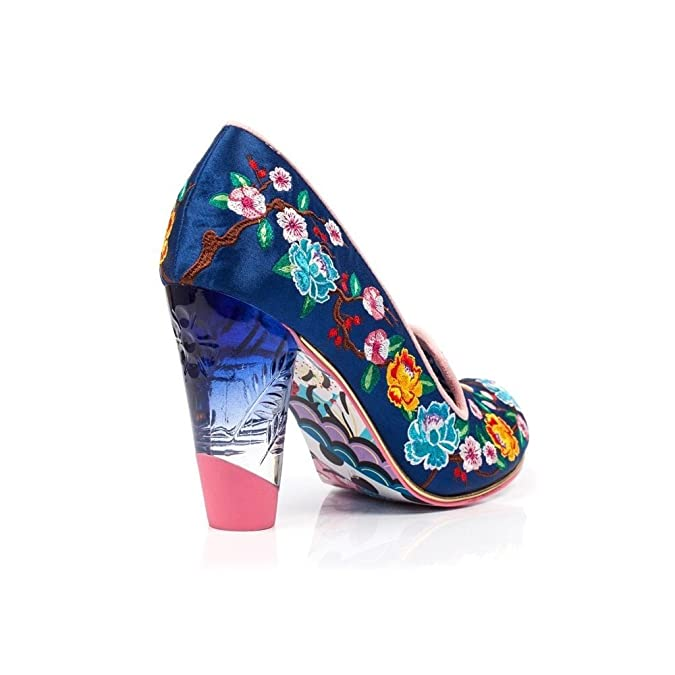Irregular Choice Womens Shoe Good Karma Navy 38 cCjv10JC
