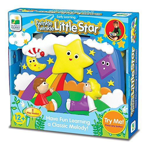 The Learning Journey: Twinkle Little Star Early Learning Music Player, Yellow