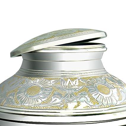 Amazon.com: meilinxu cremación por Funeral urna para cenizas ...