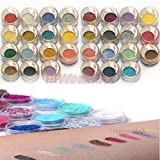 Brithday-Gift-30-Pieces-Mulit-Color-Cold-Smoked-Warmer-Glitter-Shimmer-Pearl-Loose-Eyeshadow-Pigments-Mineral-Eye-Shadow-Dust-Powder-Makeup-Party-Cosmetic-Set-AC-by-WindMax