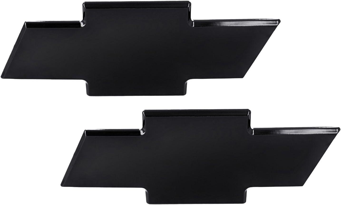 AMI 96129K Chevy Bowtie Grille & Lift gate Emblem without Border- Black Powder coat, 1 Pack