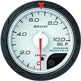 日本精機 Defi (デフィ) メーター【Defi-Link ADVANCE CR】油圧計 52φ (ホワイト) DF08101