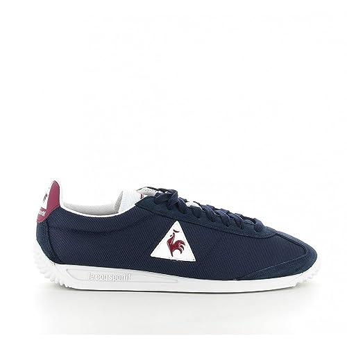 Le COQ Sportif 1810179 - Zapatillas de Deporte de Ante Hombre, Azul (1810179 Dress Blue/Ruby Wine), 39: Amazon.es: Zapatos y complementos