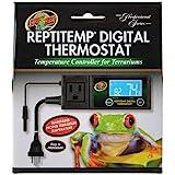 Zoo Med ReptiTemp RT-600 Digital Thermostat Controller, Black