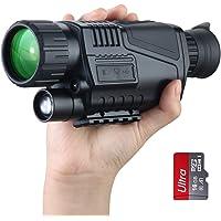 Monocular infrarrojo de visión nocturna camara termica en HD de con cámara digital; reproducción de video; para caza y…