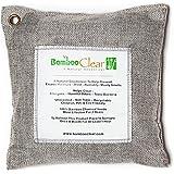 Air Purifying Bag All-Natural Bamboo Charcoal Silver Deodorizer 200g - Bamboo Clear
