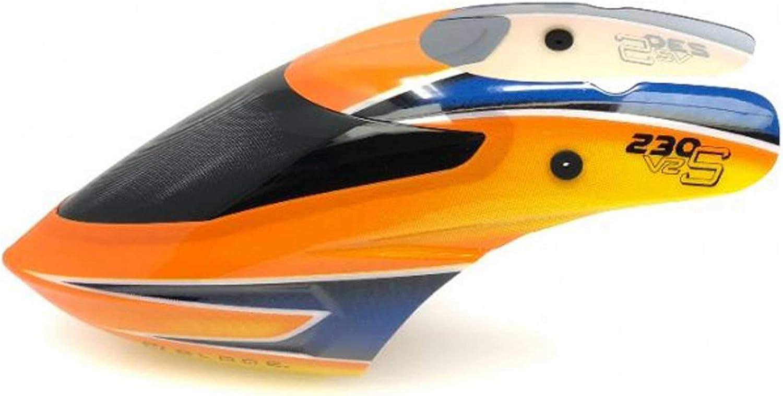 - BLADE 230 S//230 S V2 MH-230S003GR Plastique principale Blade 240 mm VERT