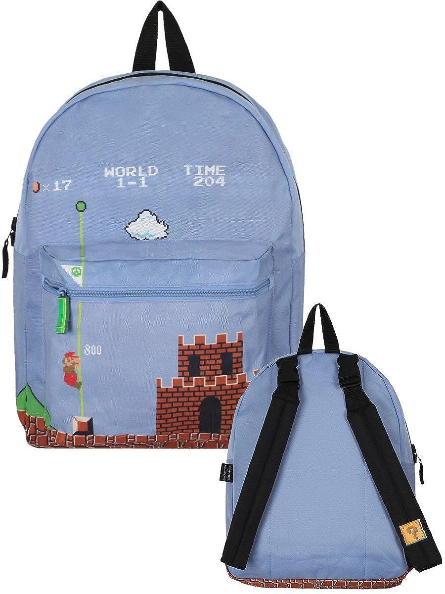 faf4a4a3d4 Super Mario Classic Retro Reversible School Backpack