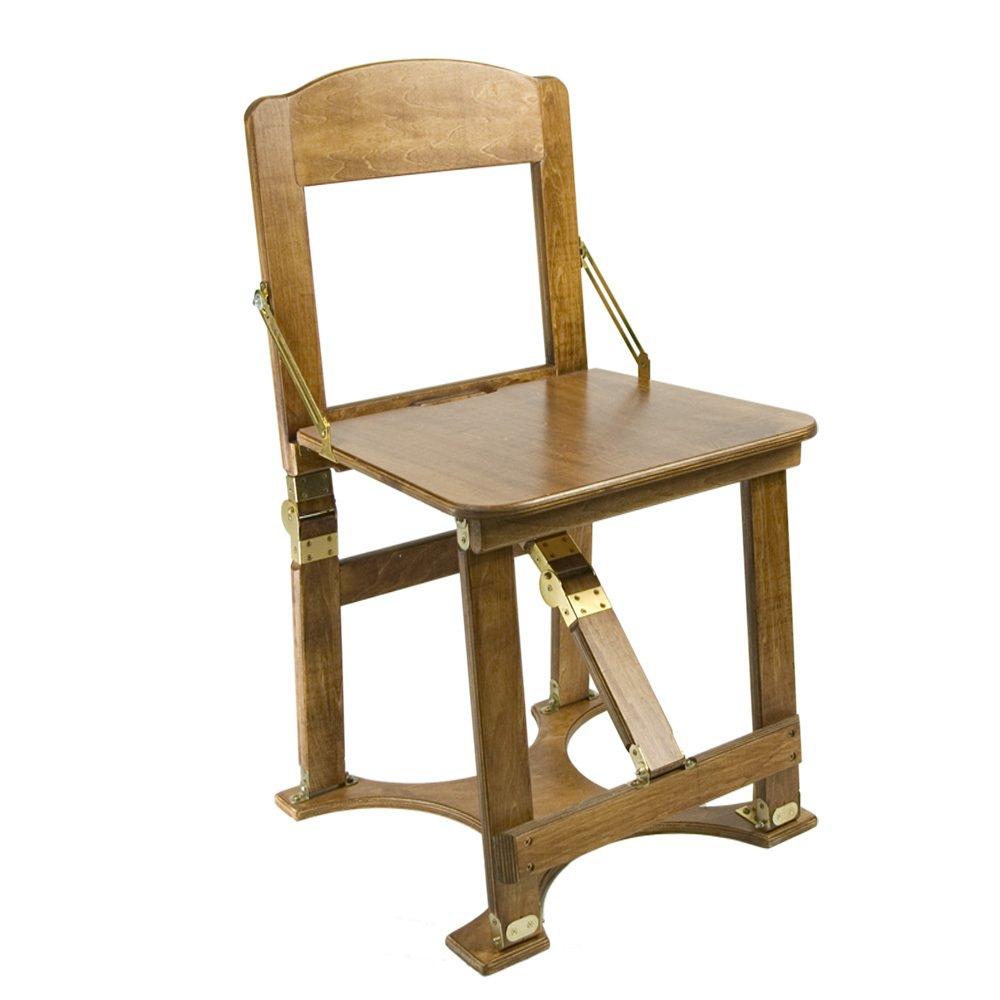 Amazon.com: Spiderlegs Double Folding Chair, Natural Birch: Kitchen ...