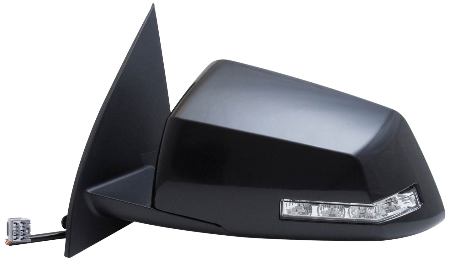 Fit System 62128G GMC/Saturn Driver Side OE Style Heated Power Replacement Mirror with Turn Signal