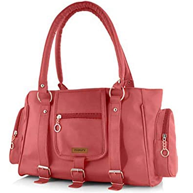 0b3b04b484 TYPIFY® Leatherette PU Handbag with Sling Belt for Women and Girls College  Office Bag
