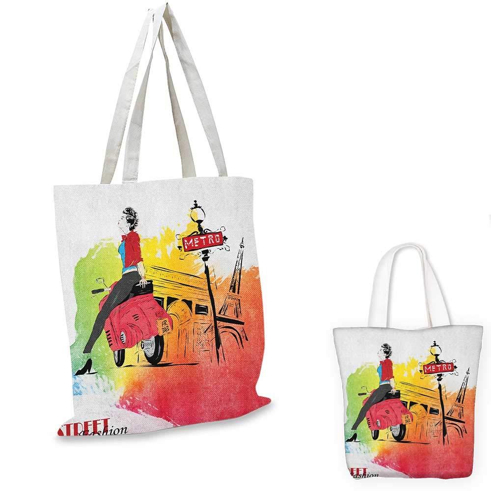 ガールズシルエット 女性とヤシの木 トロピカルビーチサンセットホライゾン風景プリント ブラックオレンジ。 16