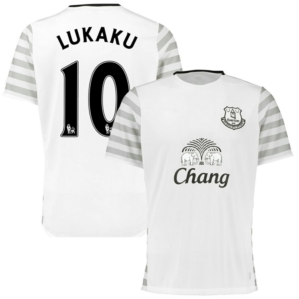 new style da257 eb6ae well-wreapped FC Football Jersey Everton #10 Lukaku Away ...