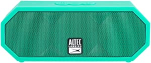 Altec Lansing IMW457-MT Jacket H2O 2 Bluetooth Speaker, IP67 Waterproof, Shockproof And Snowproof Rated And It Floats Rating, 8 Hours Of Battery, Ultra Portable, Compact Design, Mint Mint Green