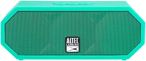 Altec Lansing IMW457-MT-ECOM Jacket H2O 2 Bluetooth Speaker, IP67 Waterproof, Shockproof And Snowproof Rated And It Floats Rating, 8 Hours Of Battery, Ultra Portable, Compact Design, Mint