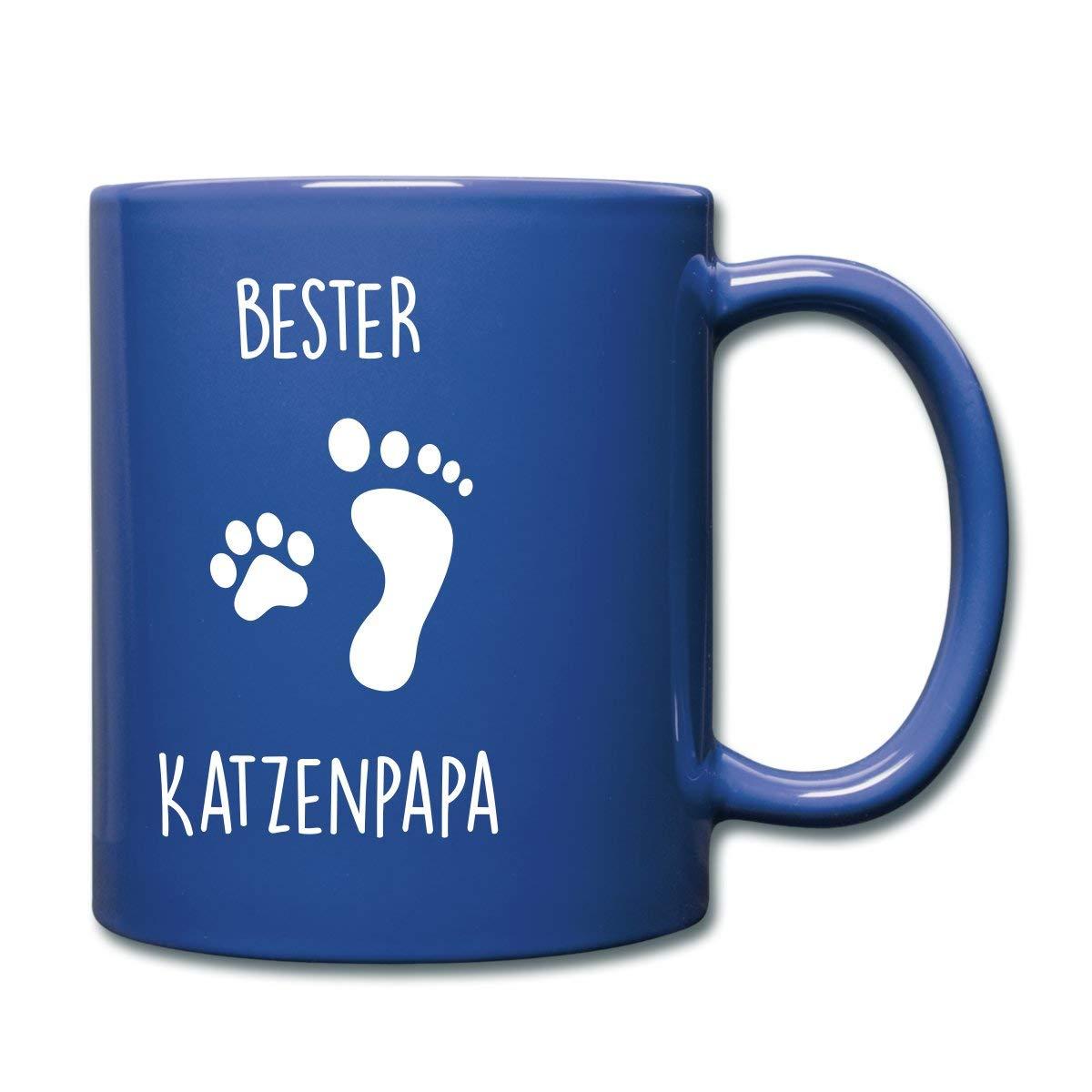 Katze Katzenpapa Katzenbesitzer Tasse von Spreadshirt®