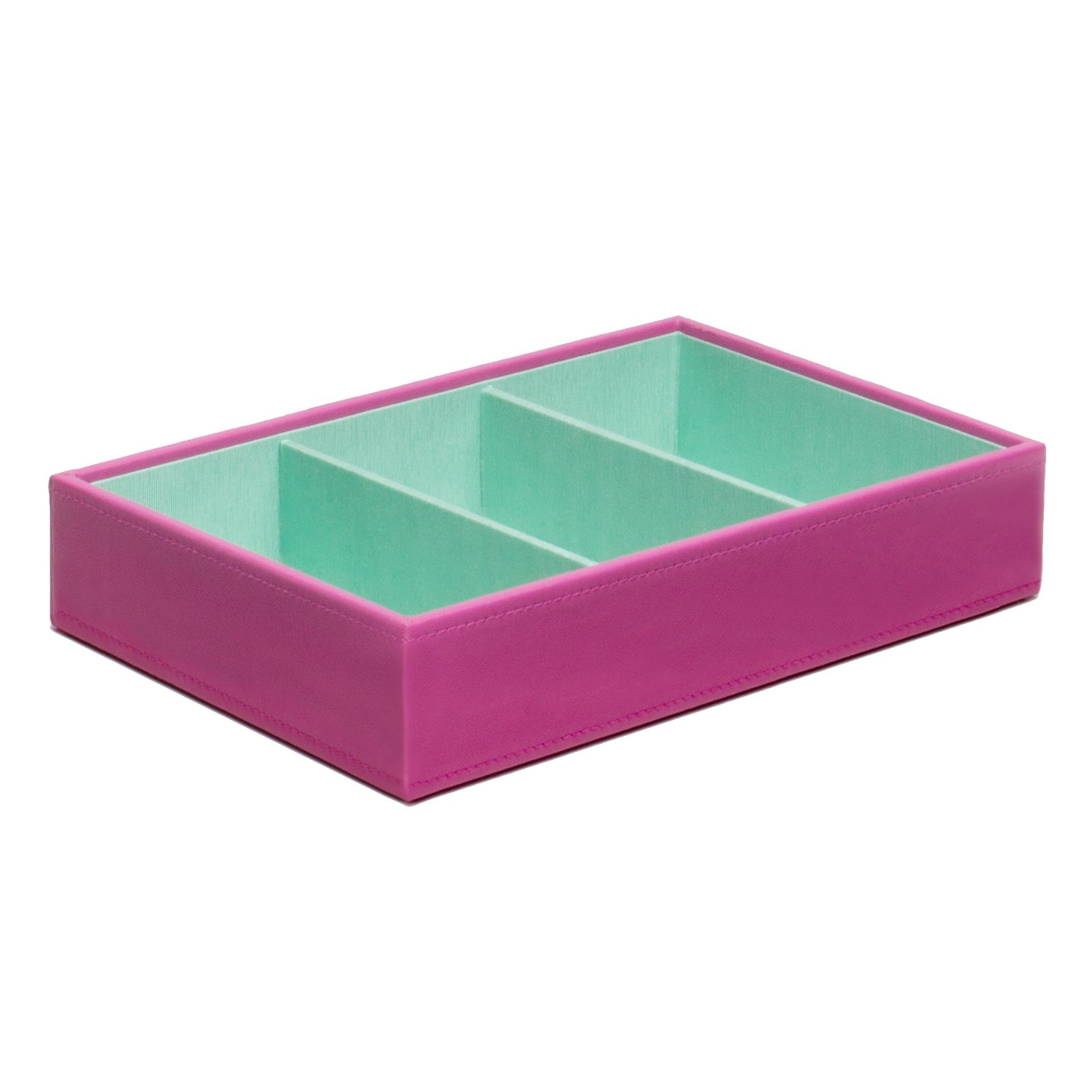 WOLF 318659 Medium Deep Stackable Jewelry Tray, Orchid