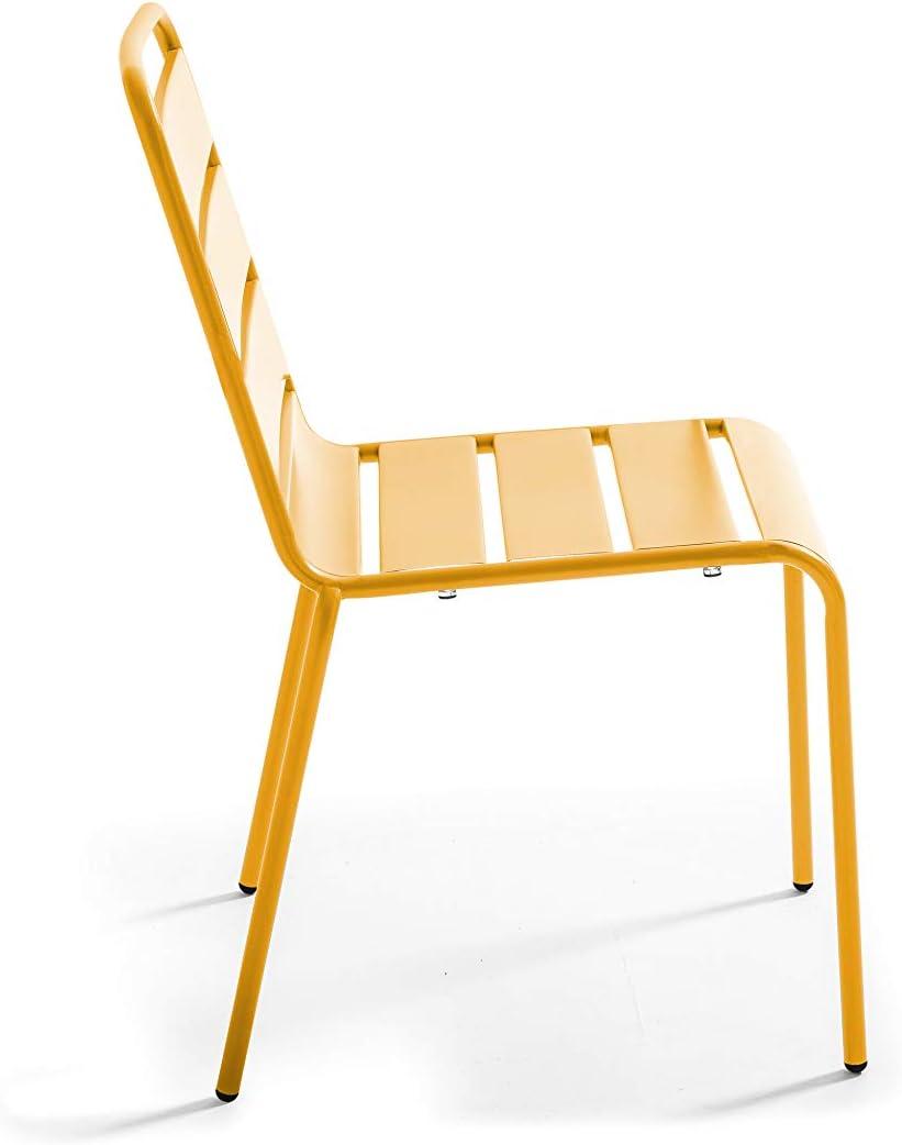 Palavas Chaise de Jardin en m/étal