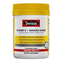 Swisse Ultiboost Vitamin C with Manuka Honey | Immunity Support, Rich in Antioxidants...