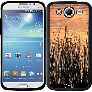 Funda para Samsung Galaxy Mega 5.8 (i9150) - La Puesta Del Sol Con La Hierba by LoRo-Design