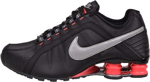 Nike Shox Mujer Joven Negro Hyper Rosada de los Zapatos Corrientes ...