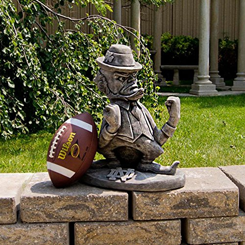 Notre Dame Fighting Irish NCAA ''Leprechaun'' College Mascot 20? Vintage Statue by Stone Mascots