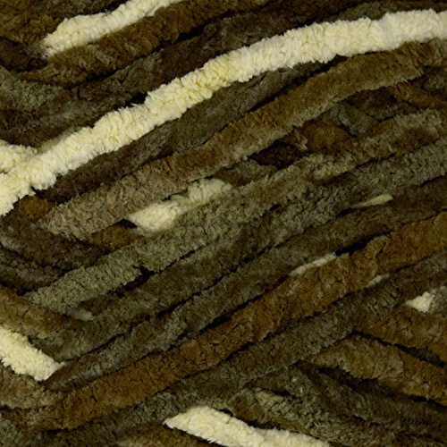 Bernat Blanket Big Ball Yarn  Gathering Moss