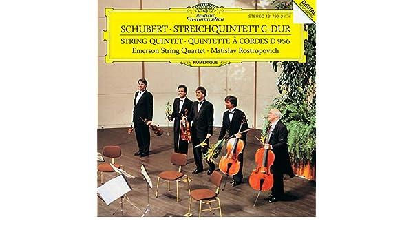 Schubert: String Quintet In C, D  956 - 4  Allegretto by
