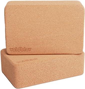 voidbiov Cork Yoga Block Set 9