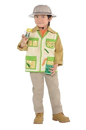 Explorer Kit Kids Fancy Dress Safari Jungle Zoo Keeper Boys Girls Childs  Costume 9b7bd0c0f3d