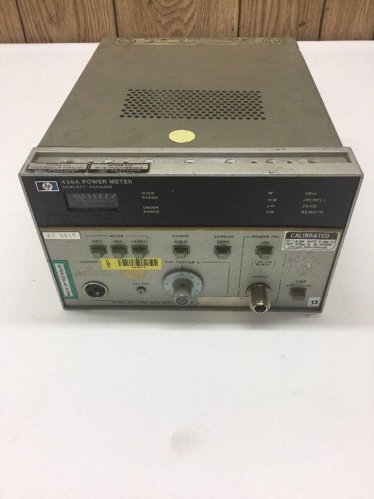 Hewlett packard hp 436a power meter operating information amazon hewlett packard hp 436a power meter operating information amazon industrial scientific freerunsca Choice Image