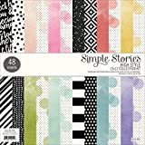 Simple Stories Paper Pad 12x12 High Style