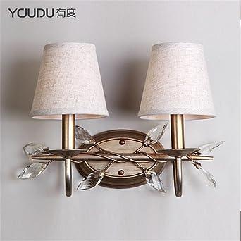 MMYNL Moderne Appliques Murales Vintage E27 Antique Lampe pour ...