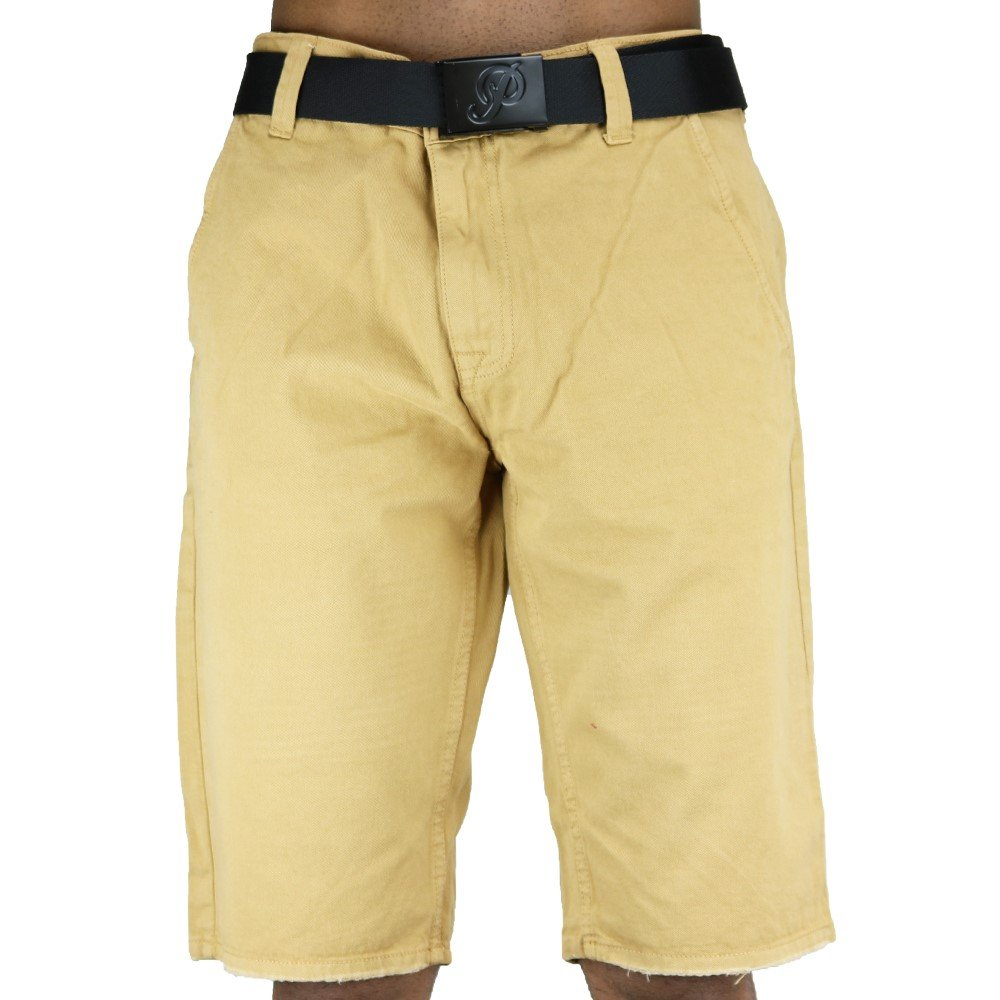Jordan Craig Twill Shorts Wheat by Jordan Craig