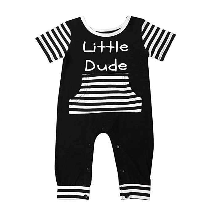 Igemy - Pelele - para bebé niño negro negro: Amazon.es: Ropa y accesorios