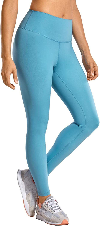 CRZ YOGA Women's Compression Leggings Hugged Feeling Tummy Control Workout Leggings 25 inches