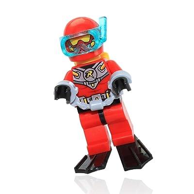 Lego Scuba Robin Minifigure Loose: Toys & Games