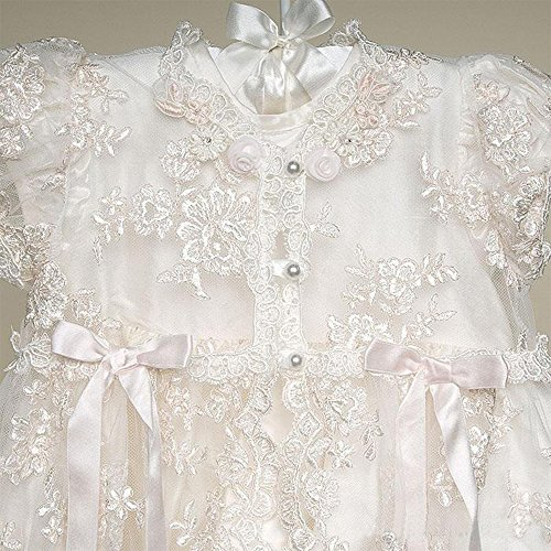AbaoWedding Lace Christening Gowns Baby Baptism Dress Newborn Baby ...