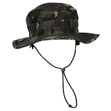 Original British Army boonie cap Sun Bush Hat woodland camo combat DPM  jungle (Small) c1bea966334