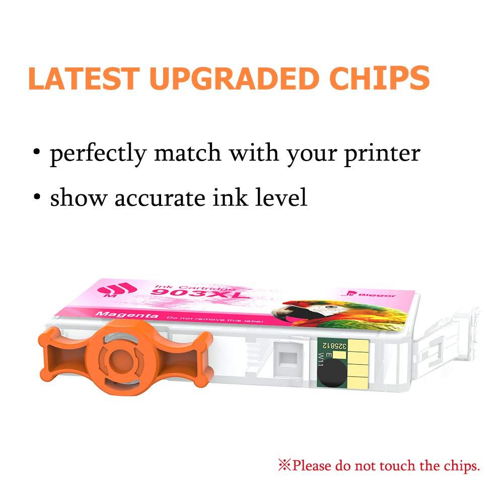Bigger - Cartuchos de Tinta de Repuesto para HP 903XL compatibles ...