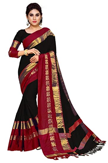 Women's Clothing Light Pink And Gold Saree Fragrant Aroma Clothing, Shoes & Accessories