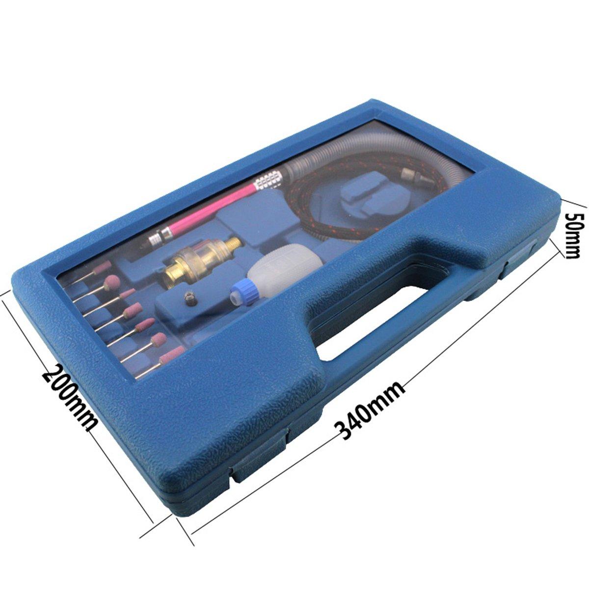 1//8 Pneumatic Micro Air Pencil Die Grinder Polishing Engraver Tool Kit szdealhola