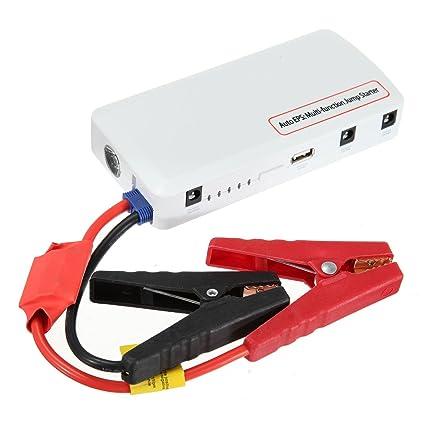 Arranque Arrancador de Coche 20000mAh Car Jump Starter Portátil Cargador de Batería de Emergencia Power Bank(Batería externo, Puerto USB para Cargar ...